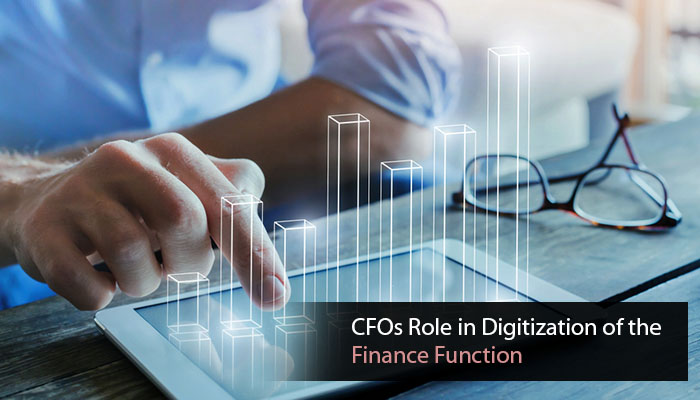 CFOs Role in Digitization of the Finance Function